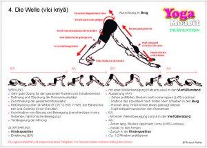 10 Yoga-Übungskarten für zu Hause