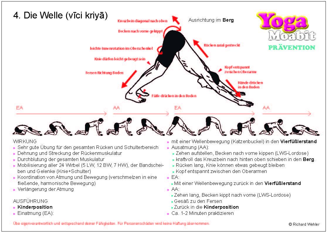 10 Yoga-Übungskarten für Zuhause