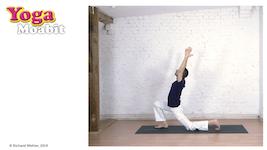Hatha-Yoga Kurs. Level 3 (Anfänger-Fortgeschrittene), 35 min. Kraft trifft Dehnung