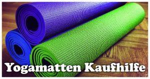 Kaufhilfe Yogamatten